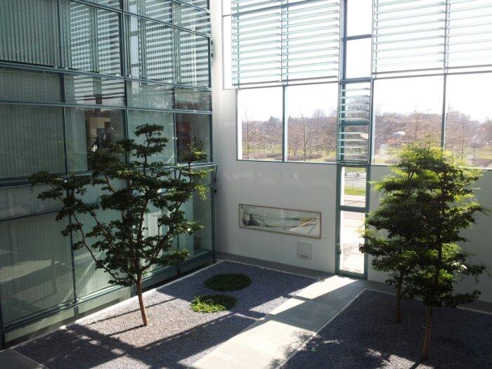 Wintergarten im Bundeskanzleramt, Berlin