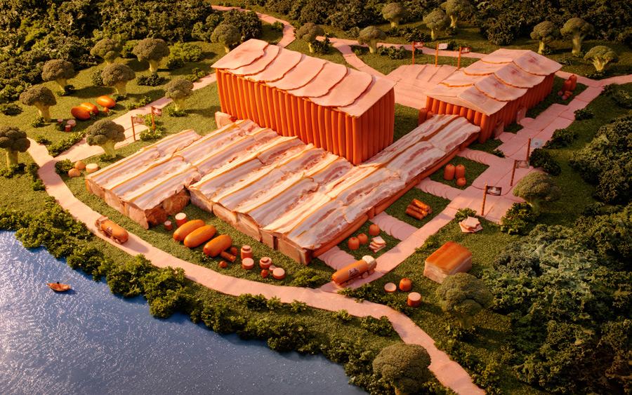 Meat Factory // (c) Carl Warner (mit freundlicher Genehmigung)