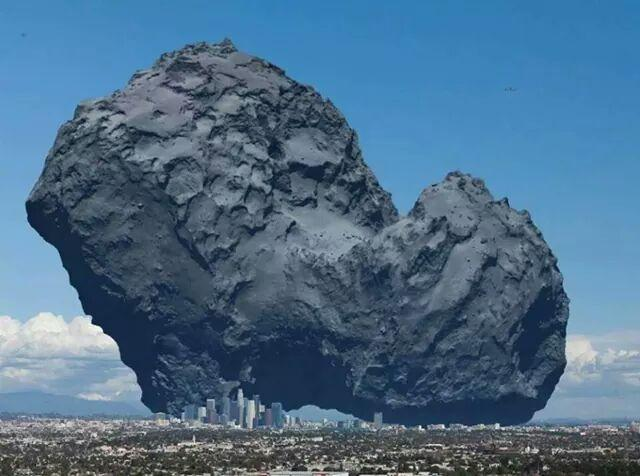 comet 67P/Churyumov-Gerasimenko on the ground. // @quark1972