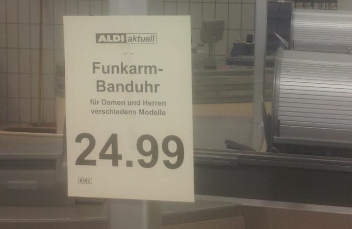 Funkarm-Banduhr
